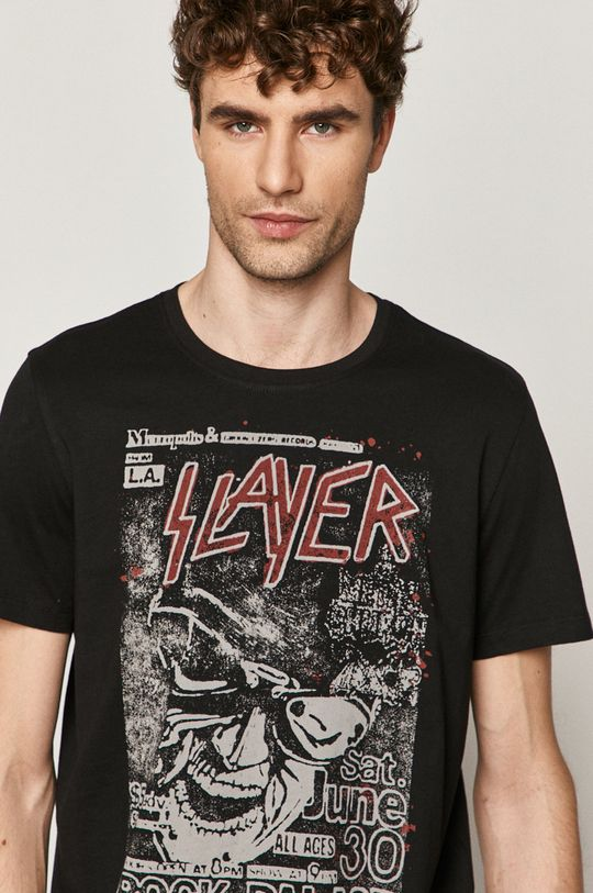 czarny Medicine - T-shirt Licence Mix Męski