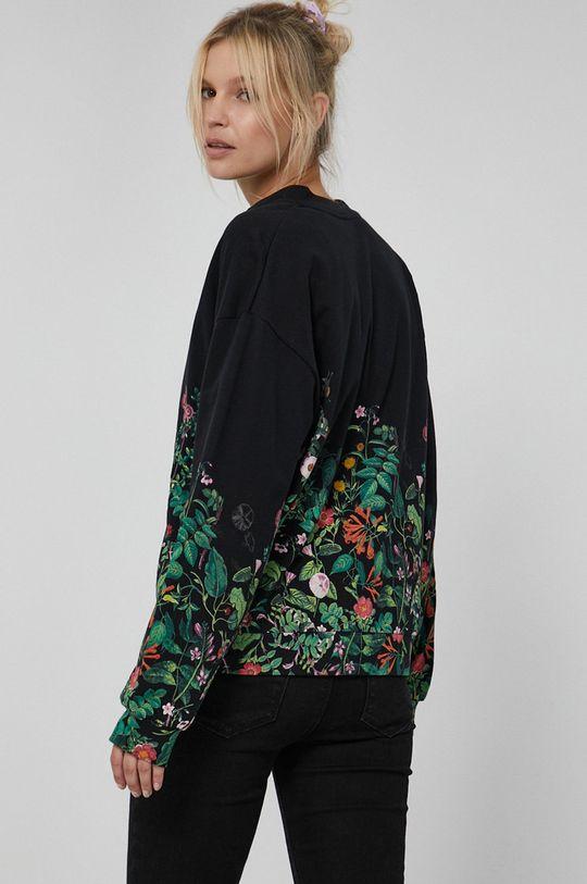 Medicine - Bluza bawełniana Dark Blooms 100 % Bawełna