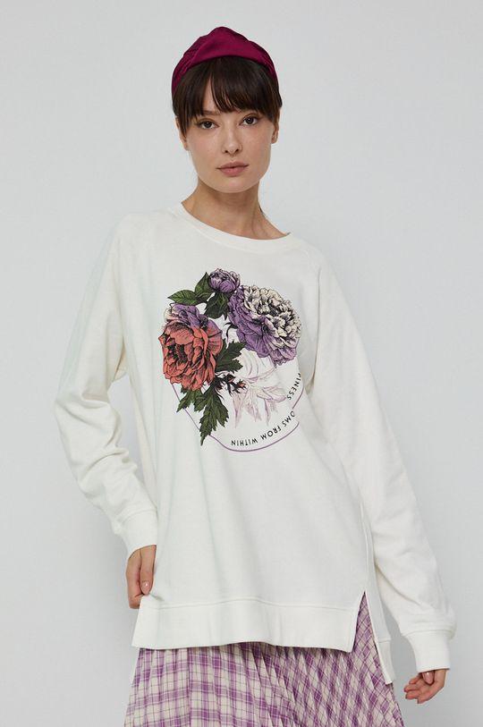 kremowy Medicine - Bluza Poetic Garden