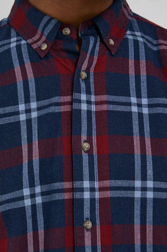 Medicine - Koszula bawełniana Basic granatowy