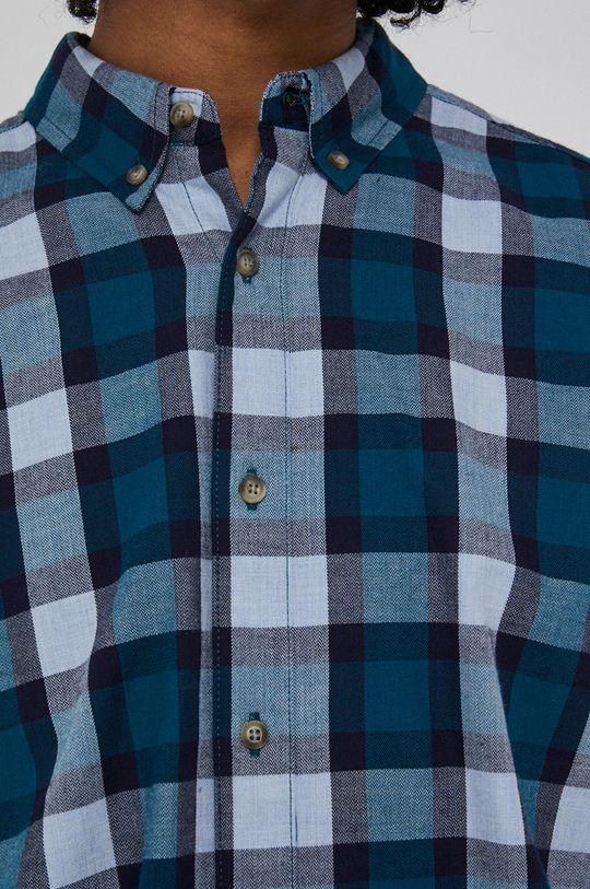 Medicine - Koszula bawełniana Basic cyraneczka