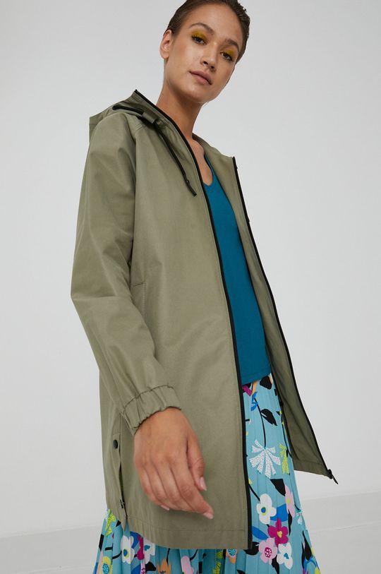 jasny oliwkowy Medicine - Płaszcz przeciwdeszczowy Essential Damski