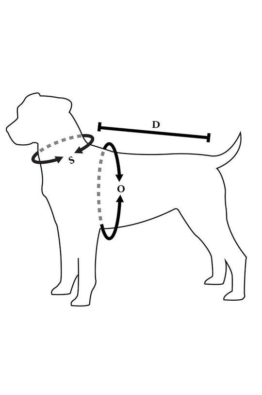 srebrny Medicine - Kurtka dla psa Essential