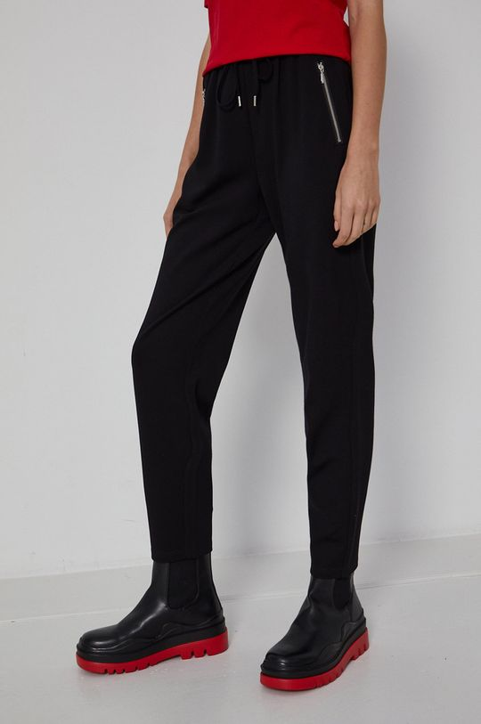 czarny Medicine - Spodnie Basic Damski