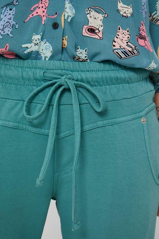 turkusowy Medicine - Spodnie Essential