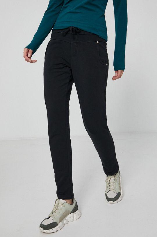 czarny Medicine - Spodnie Essential Damski