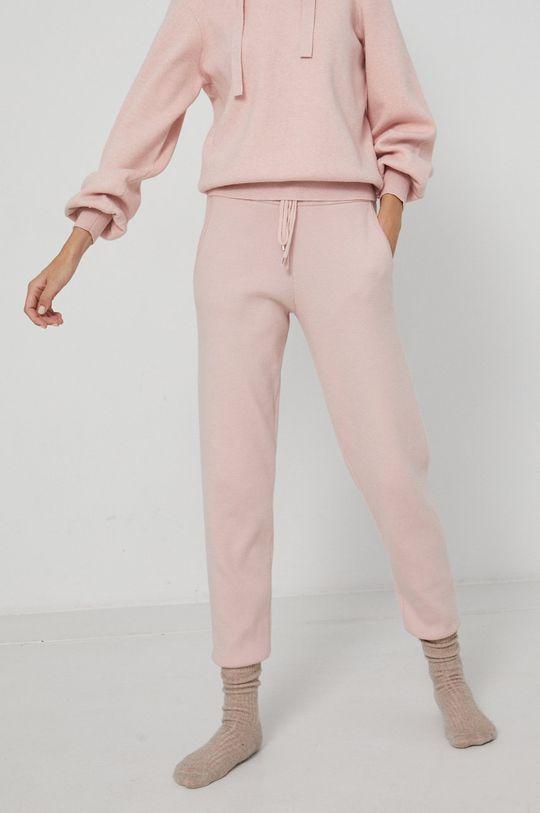 pastelowy różowy Medicine - Spodnie Timeless Capsule Damski