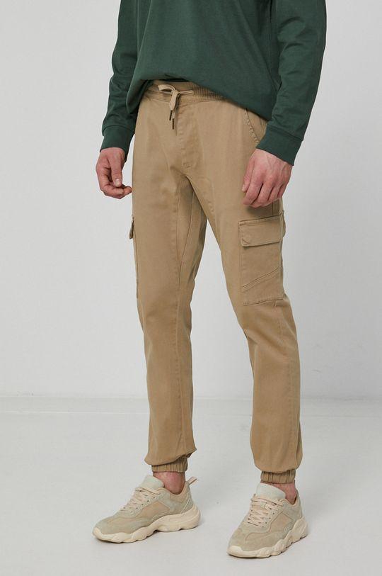 beżowy Medicine - Spodnie Basic Męski