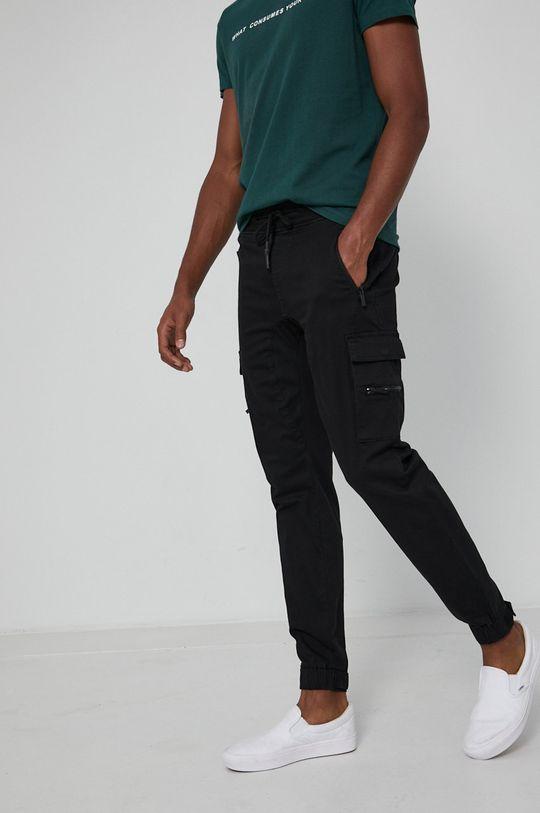 negru Medicine - Pantaloni Urban Punk De bărbați