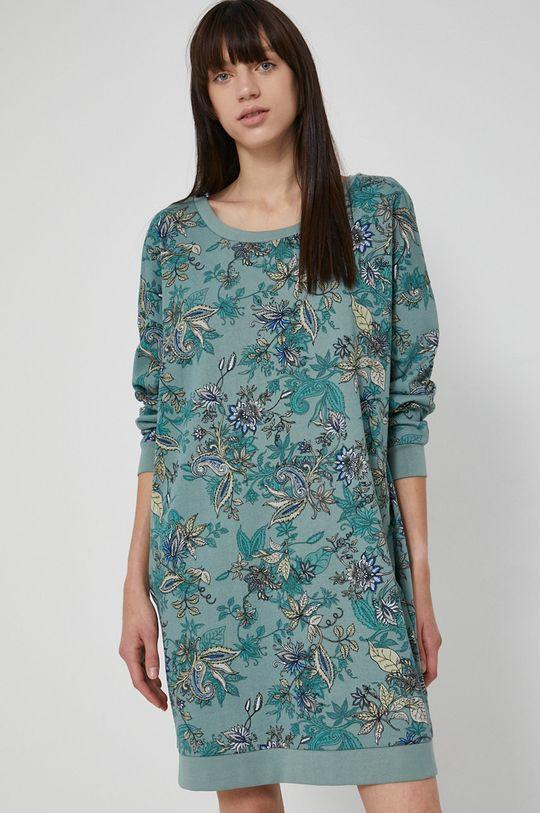 světle modrá Medicine - Bavlněné šaty Commercial Dámský