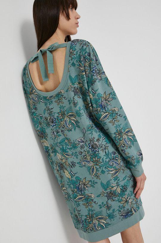 světle modrá Medicine - Bavlněné šaty Commercial