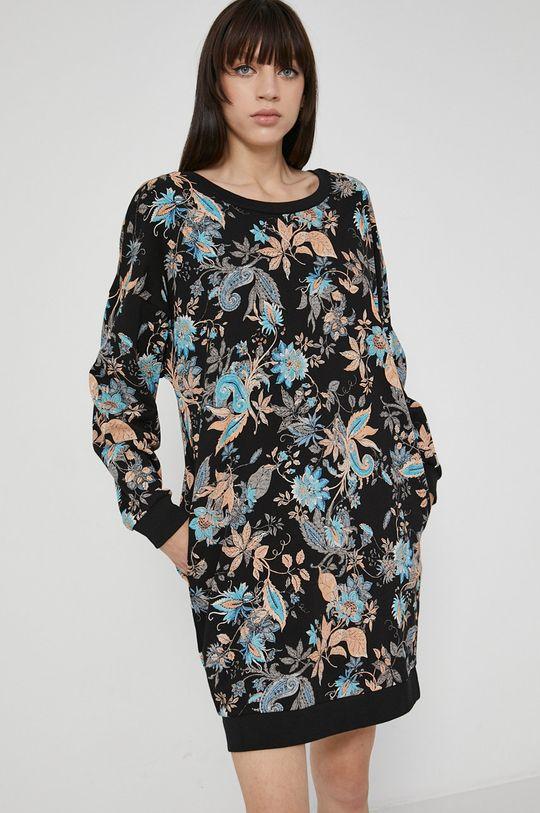 černá Medicine - Bavlněné šaty Commercial Dámský