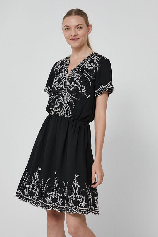 czarny Medicine - Sukienka Essential Damski