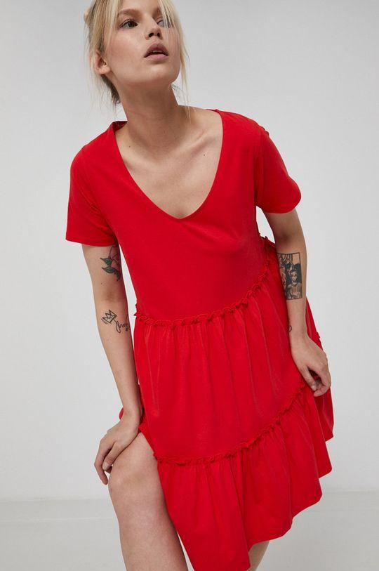 czerwony Medicine - Sukienka Essential