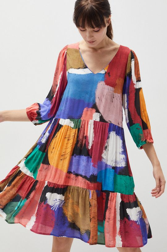 multicolor Medicine - Sukienka Essential Damski
