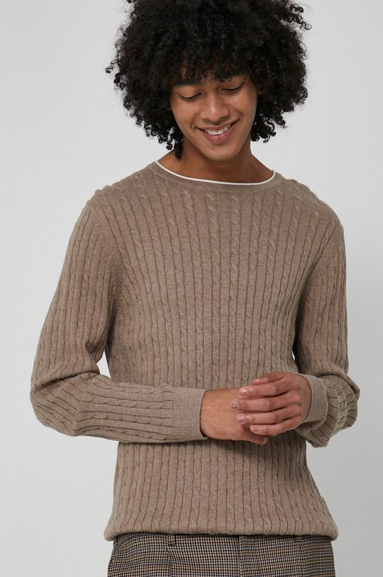 Medicine - Sweter Commercial piaskowy