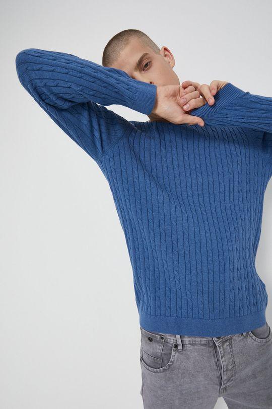 niebieski Medicine - Sweter Commercial Męski