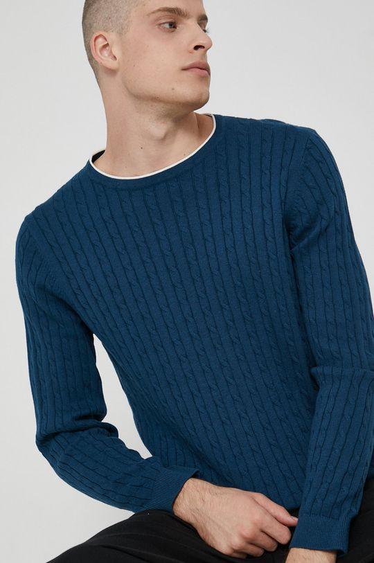 turkusowy Medicine - Sweter Commercial