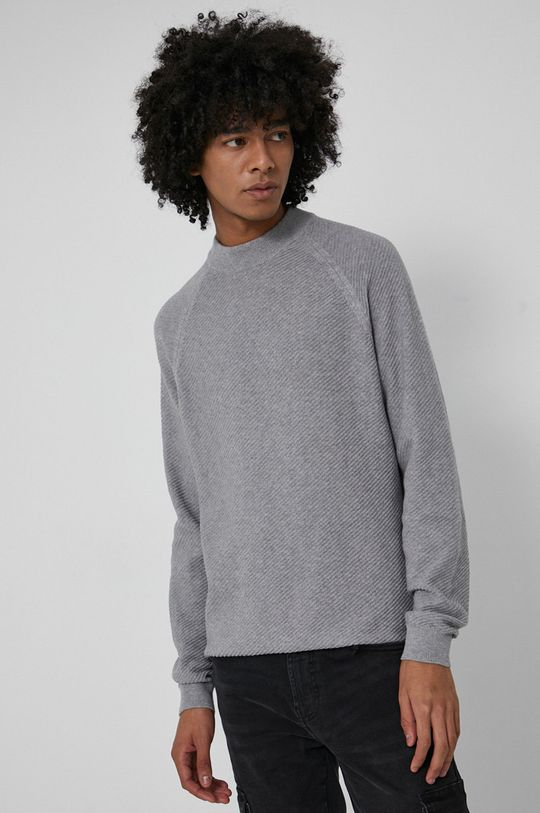 jasny szary Medicine - Sweter Basic
