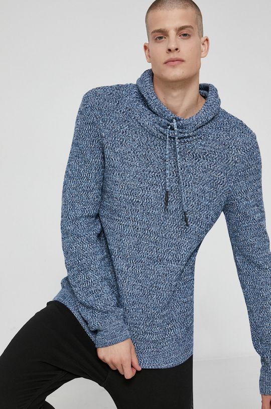 modrá Medicine - Bavlněný svetr Essential Pánský