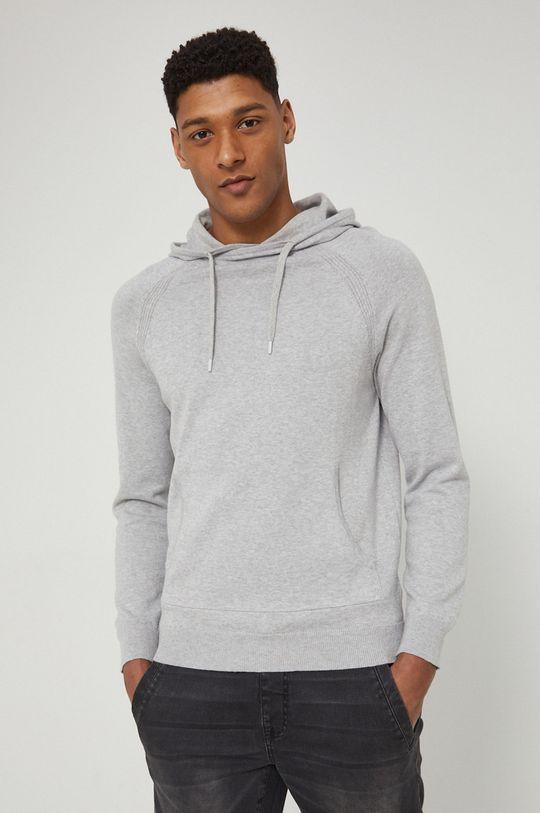 jasny szary Medicine - Sweter Essential Męski