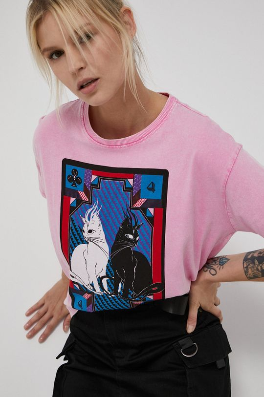 różowy Medicine - T-shirt The Black Keys Damski