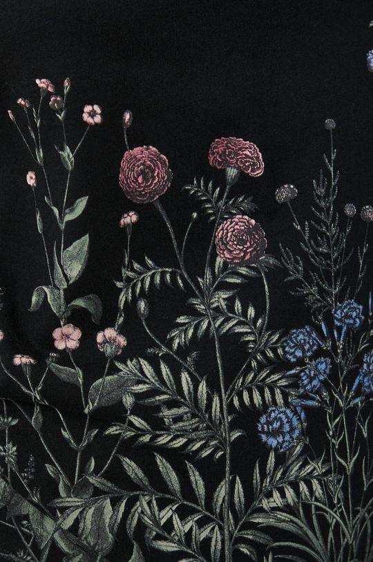 Medicine - Top bawełniany Dark Blooms Damski