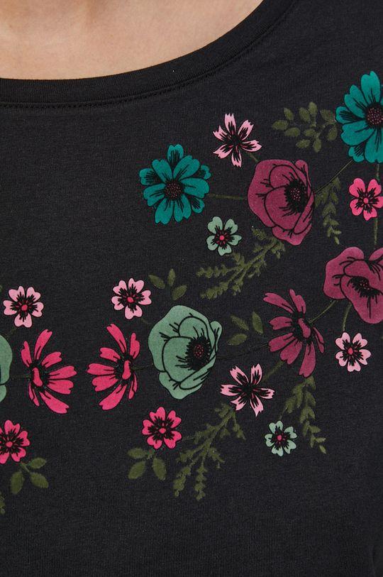 Medicine - T-shirt bawełniany Dark Blooms Damski