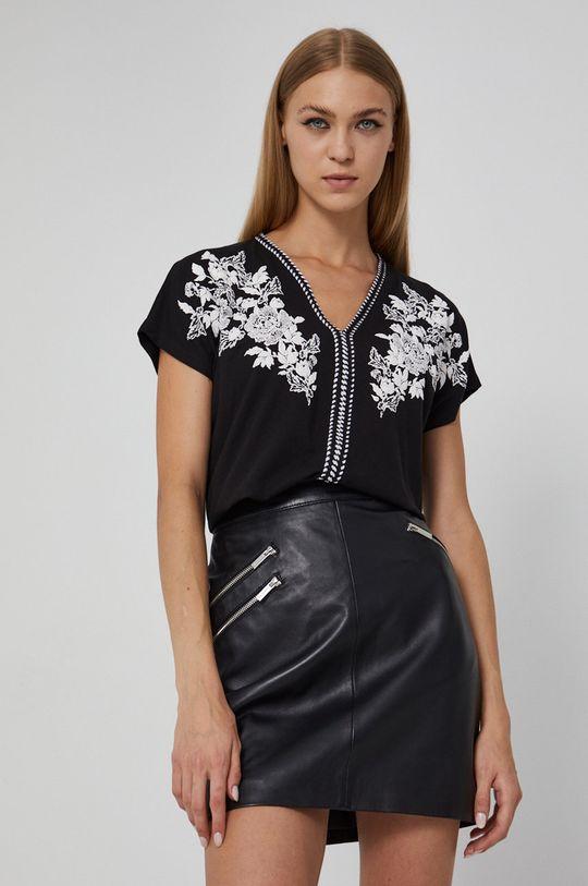 negru Medicine - Tricou din bumbac Graphic Bouquet De femei