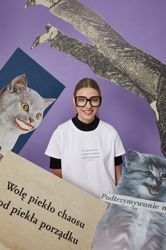 biały Medicine - T-shirt Wisława Szymborska Damski