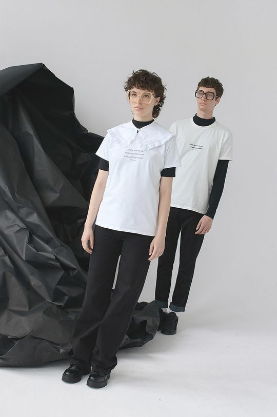 biały Medicine - T-shirt Wisława Szymborska