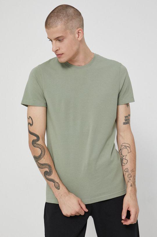 Medicine - T-shirt Basic stalowy zielony