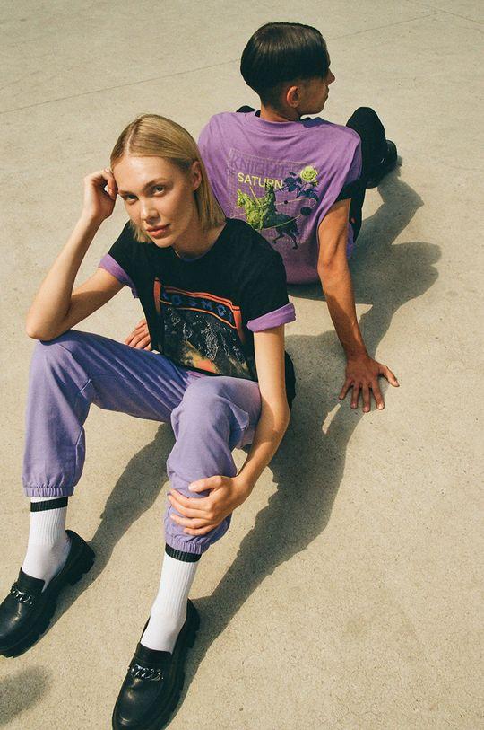 czarny Medicine - T-shirt bawełniany Unisex