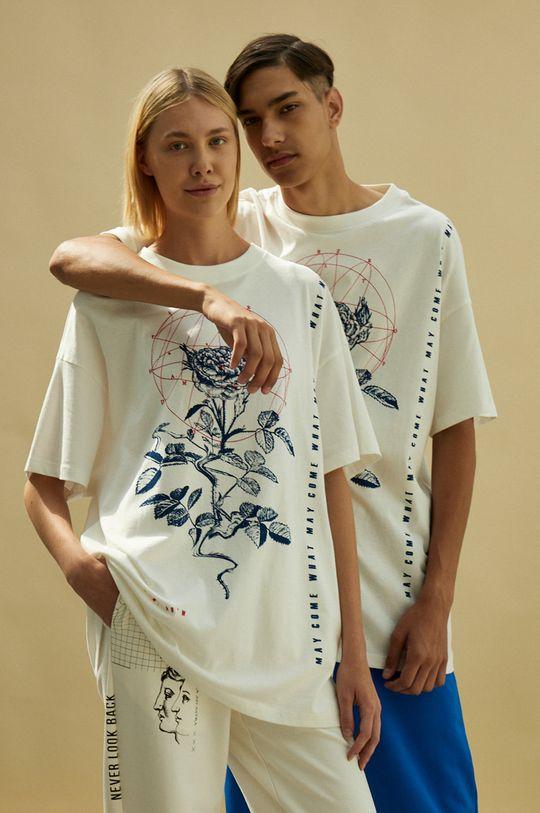 biały Medicine - T-shirt Unisex Męski
