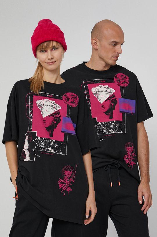 negru Medicine - Tricou din bumbac Universum De bărbați