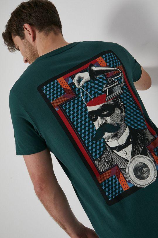 ciemny zielony Medicine - T-shirt bawełniany Urban Punk Męski