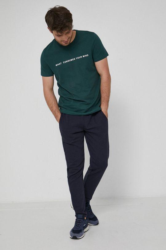 Medicine - T-shirt bawełniany Urban Punk ciemny zielony