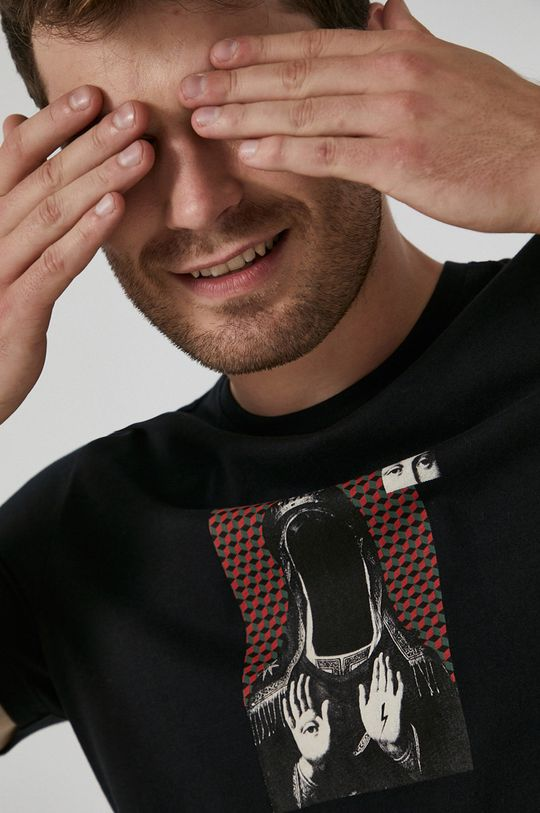 czarny Medicine - T-shirt bawełniany Urban Punk