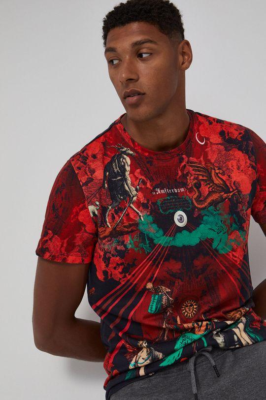 rosu Medicine - Tricou din bumbac Urban Punk De bărbați