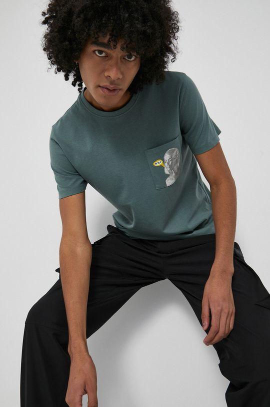 jasny zielony Medicine - T-shirt bawełniany Wisława Szymborska