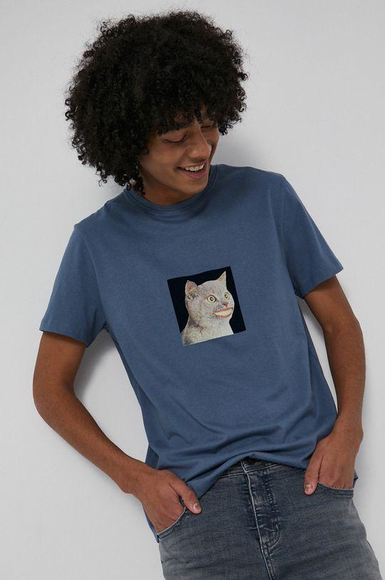 niebieski Medicine - T-shirt bawełniany Wisława Szymborska