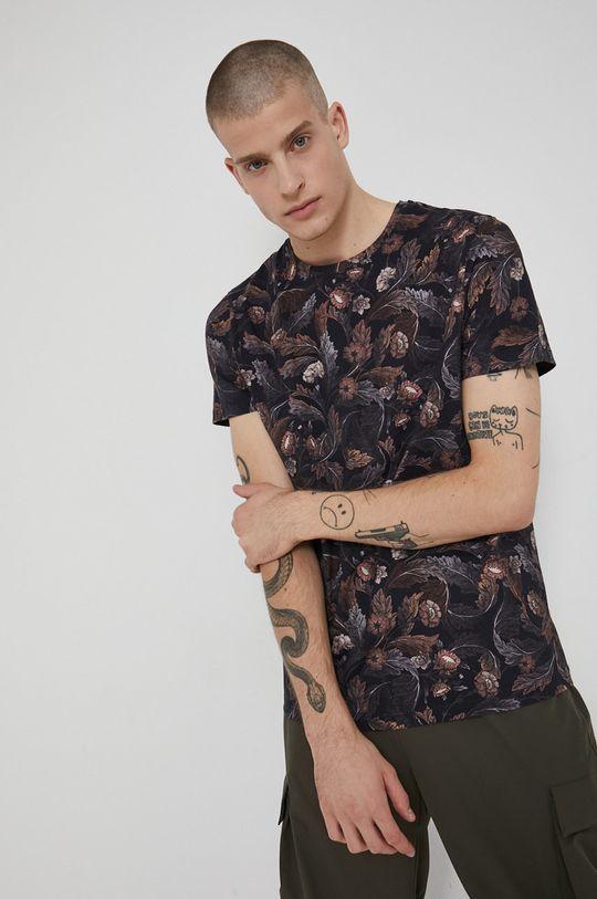Medicine - Bavlněné tričko Tapestry hnědá
