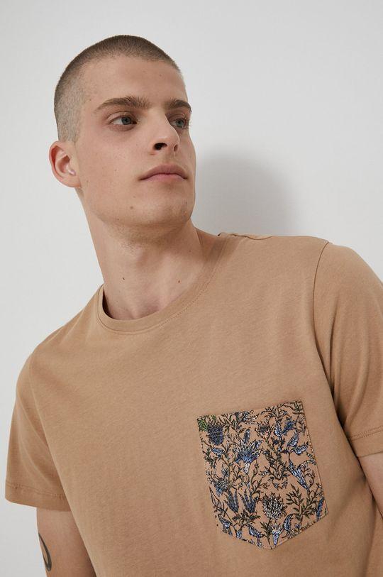 béžová Medicine - Bavlněné tričko Tapestry