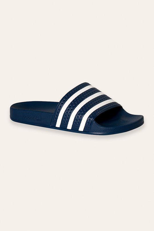 niebieski adidas Originals - Klapki Męski