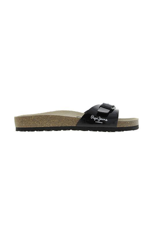 Pepe Jeans - Pantofle Oban černá