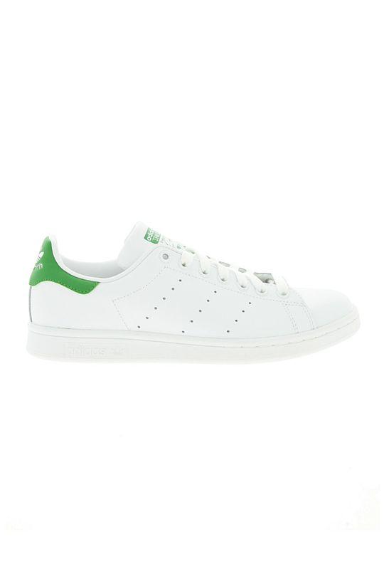 biały adidas Originals - Buty skórzane Stan Smith Męski