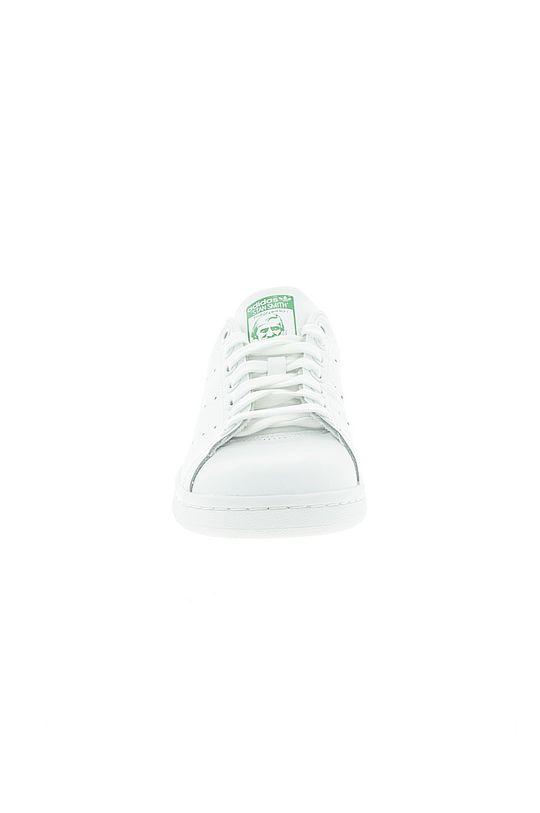 biały adidas Originals - Buty skórzane Stan Smith