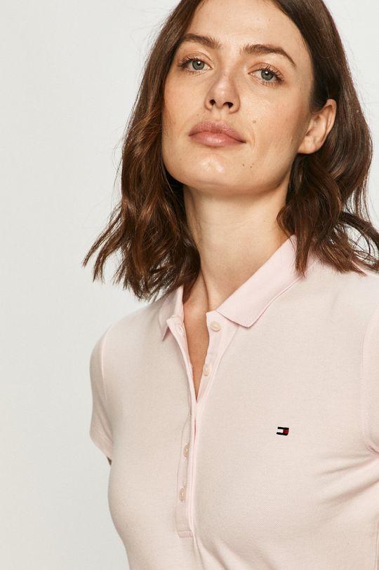 ružová Tommy Hilfiger - Tričko