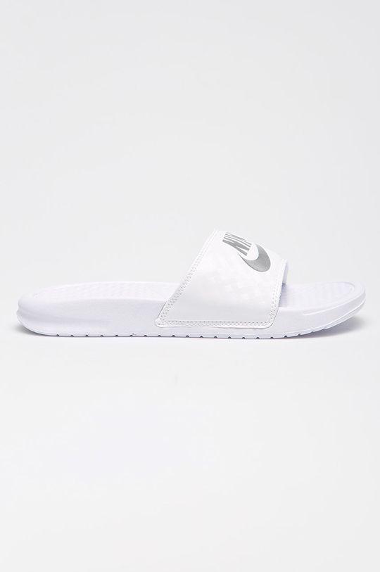 bílá Nike Sportswear - Pantofle Benassi Dámský