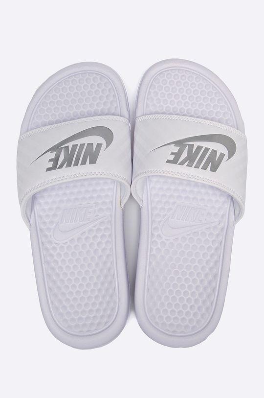 Nike Sportswear - Pantofle Benassi bílá